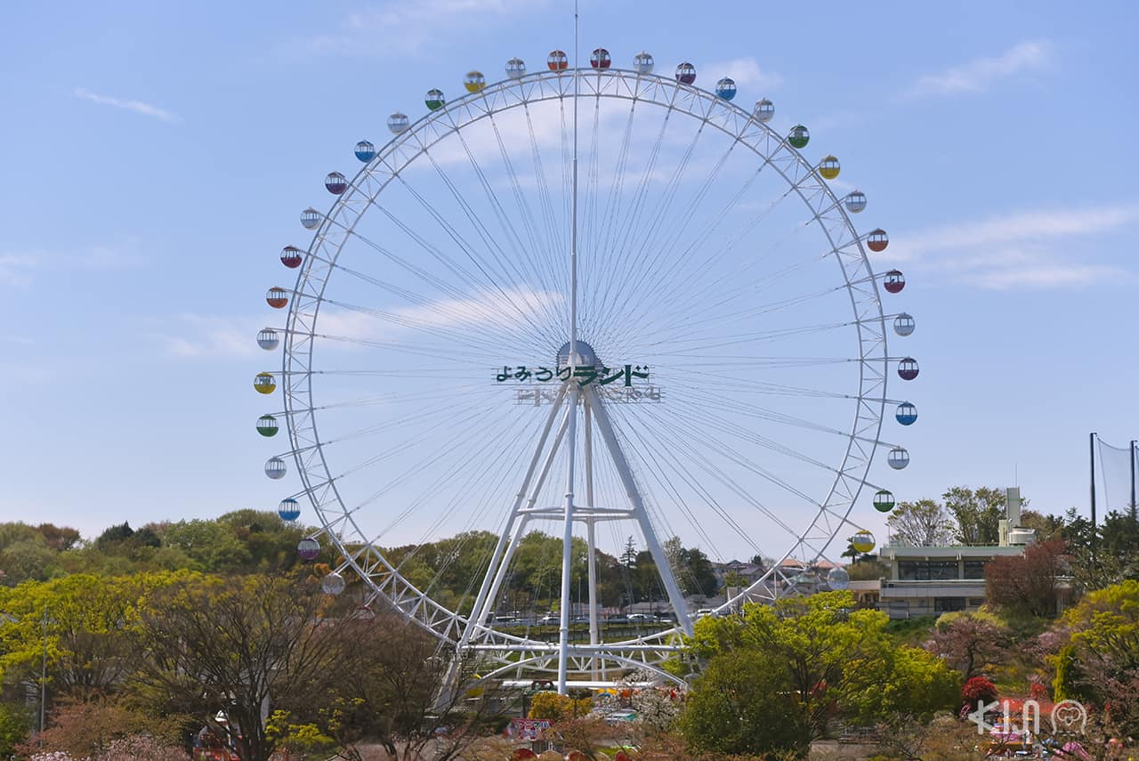 Giant Ferris Wheel in Yomiuriland