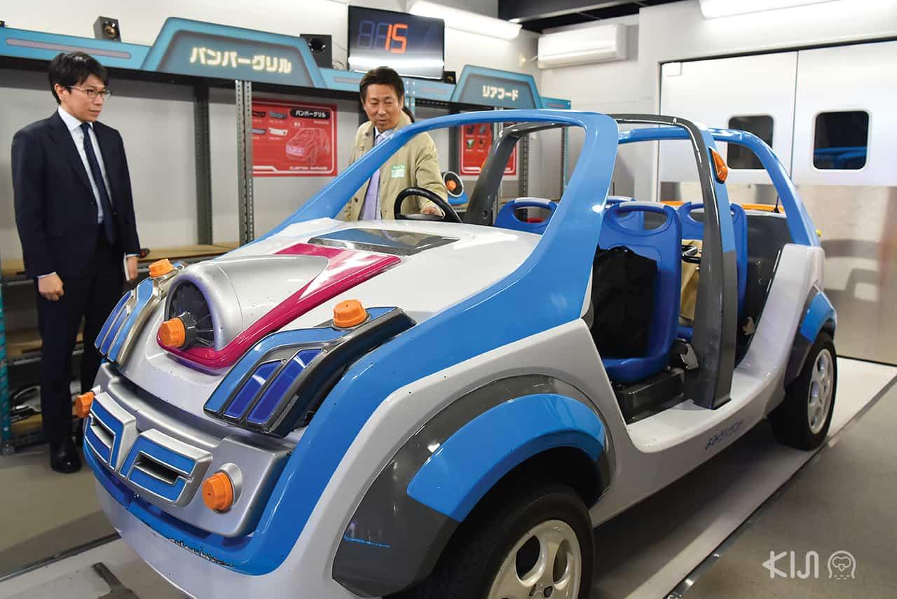 Car factory in Yomiuriland