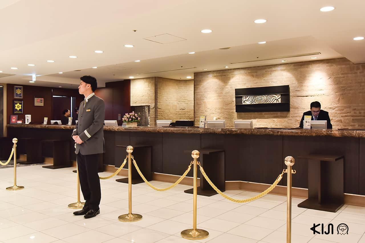 ภายในโรงแรม Hotel Metropolitan EdmontTokyo