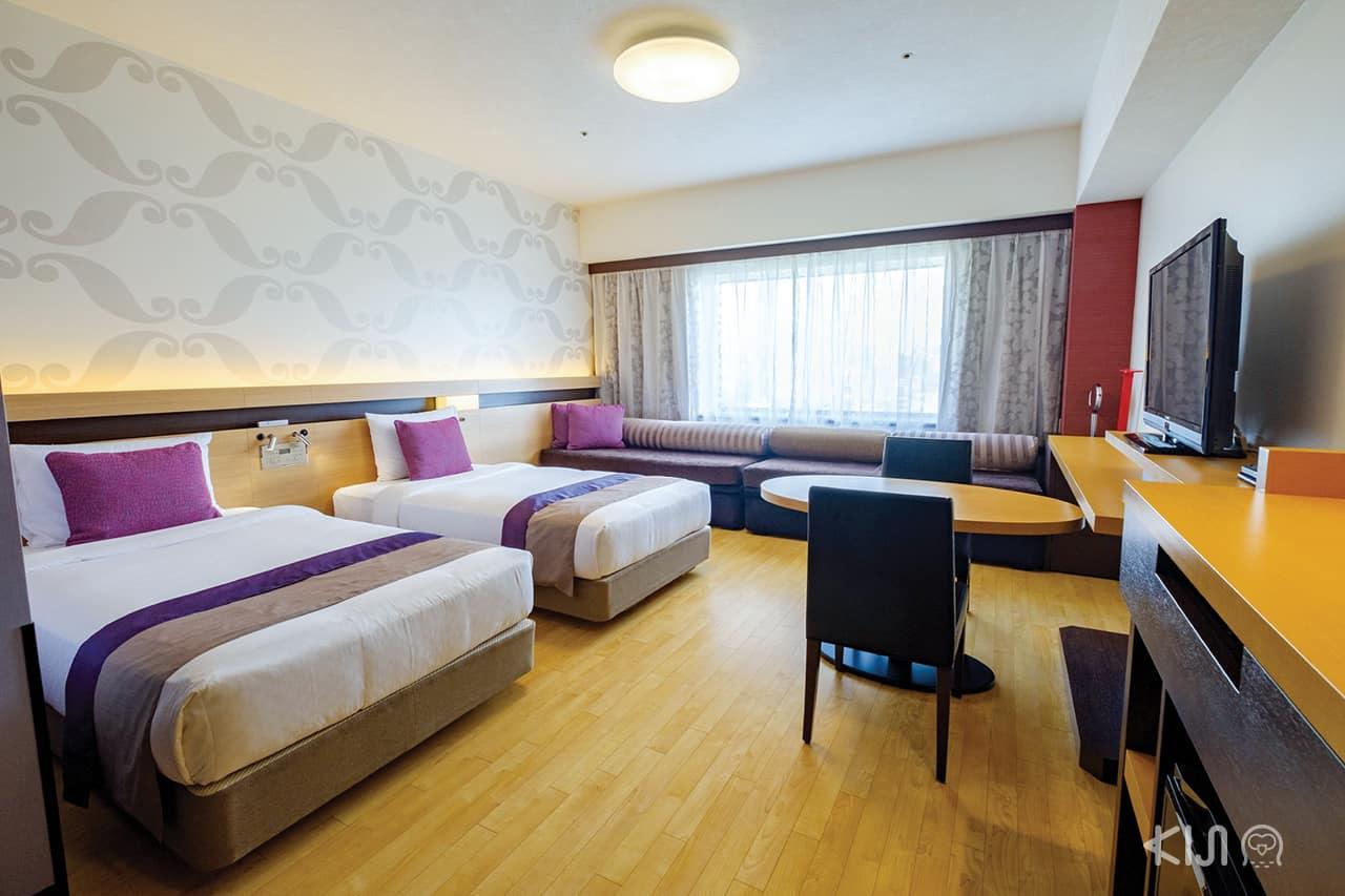 ห้องพักของ Hotel Metropolitan EdmontTokyo