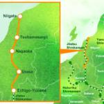 Map – Genbi Shinkansen