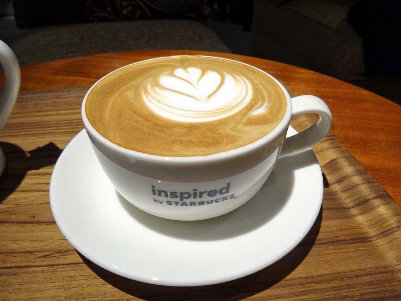 กาแฟของร้าน Inspired by STARBUCKS ย่าน Ikejiri Ohashi