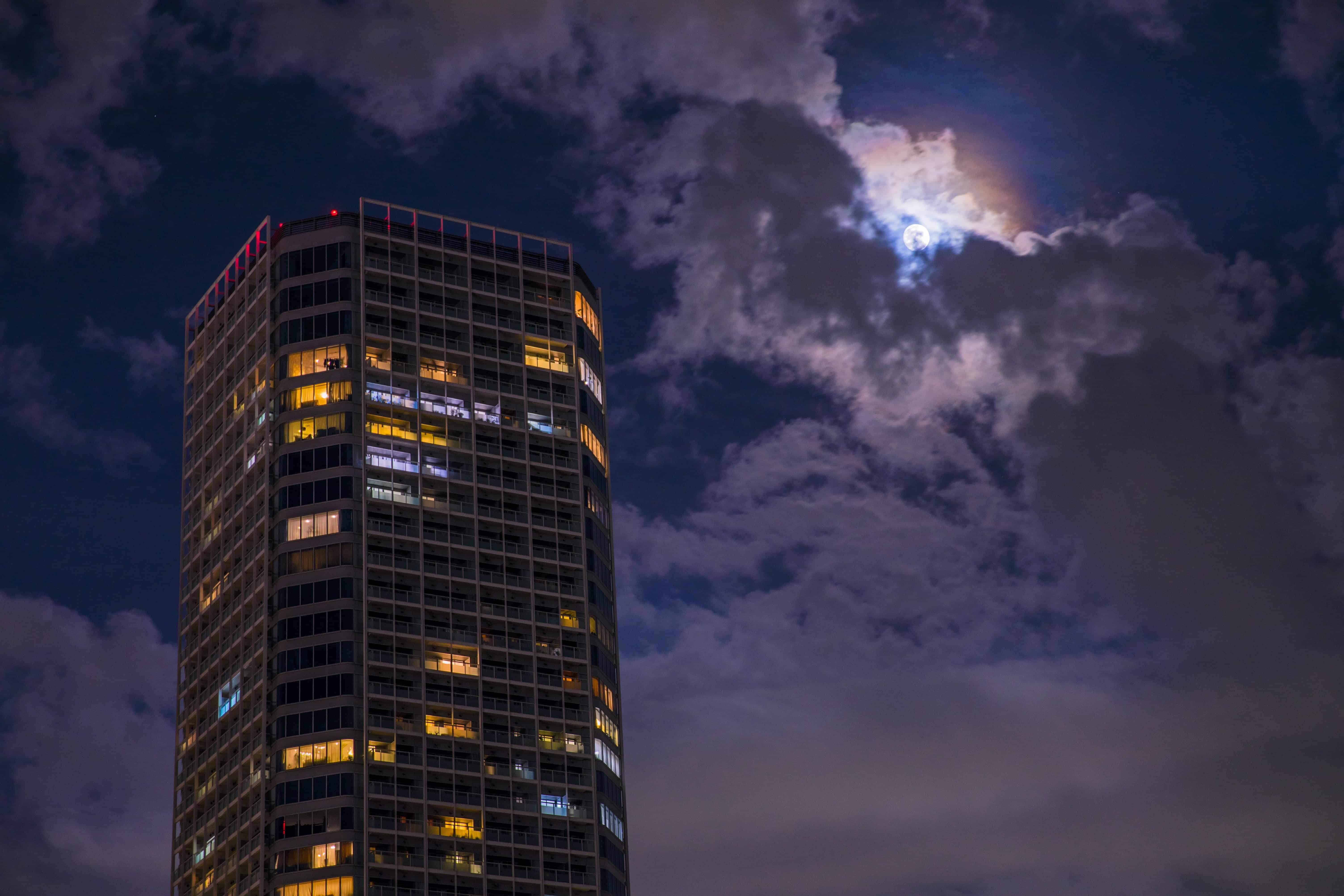 ตึกสูง Aprtment หรูของโครงการ Futako Tamagawa Rise Complex
