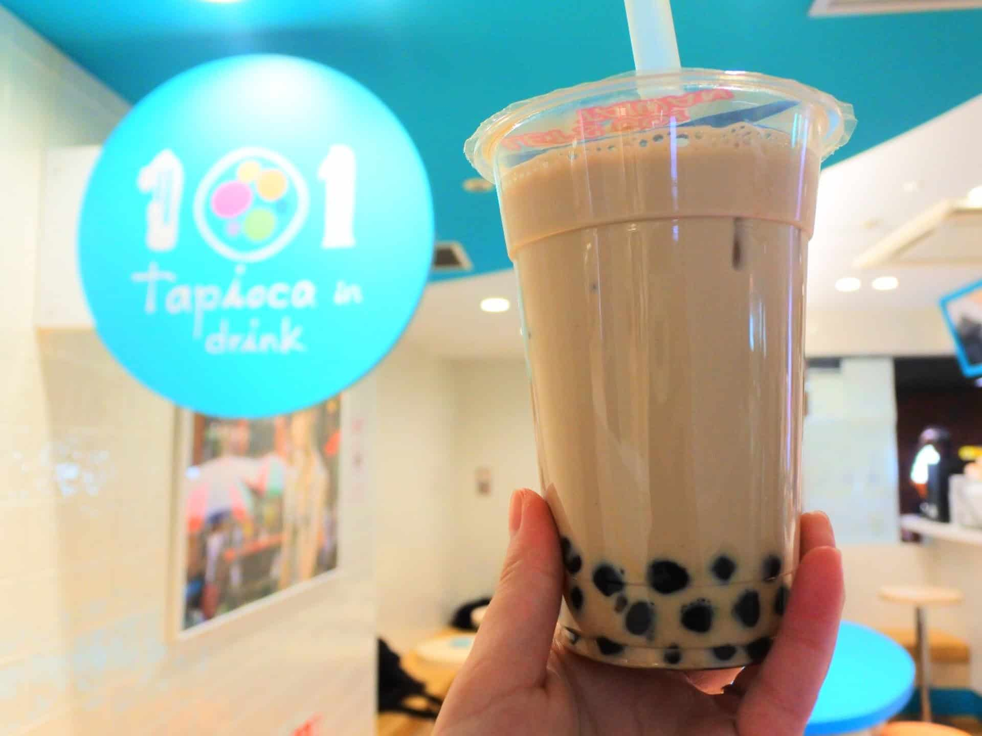 101 Milk Tea ร้านชานมไข่มุกในโอซาก้า