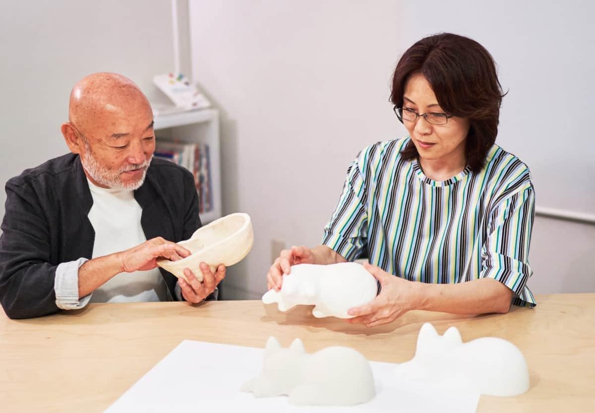 คุณโมริอิ ยูกะ (Yuka Morii) ผู้คิดค้น Neko cup