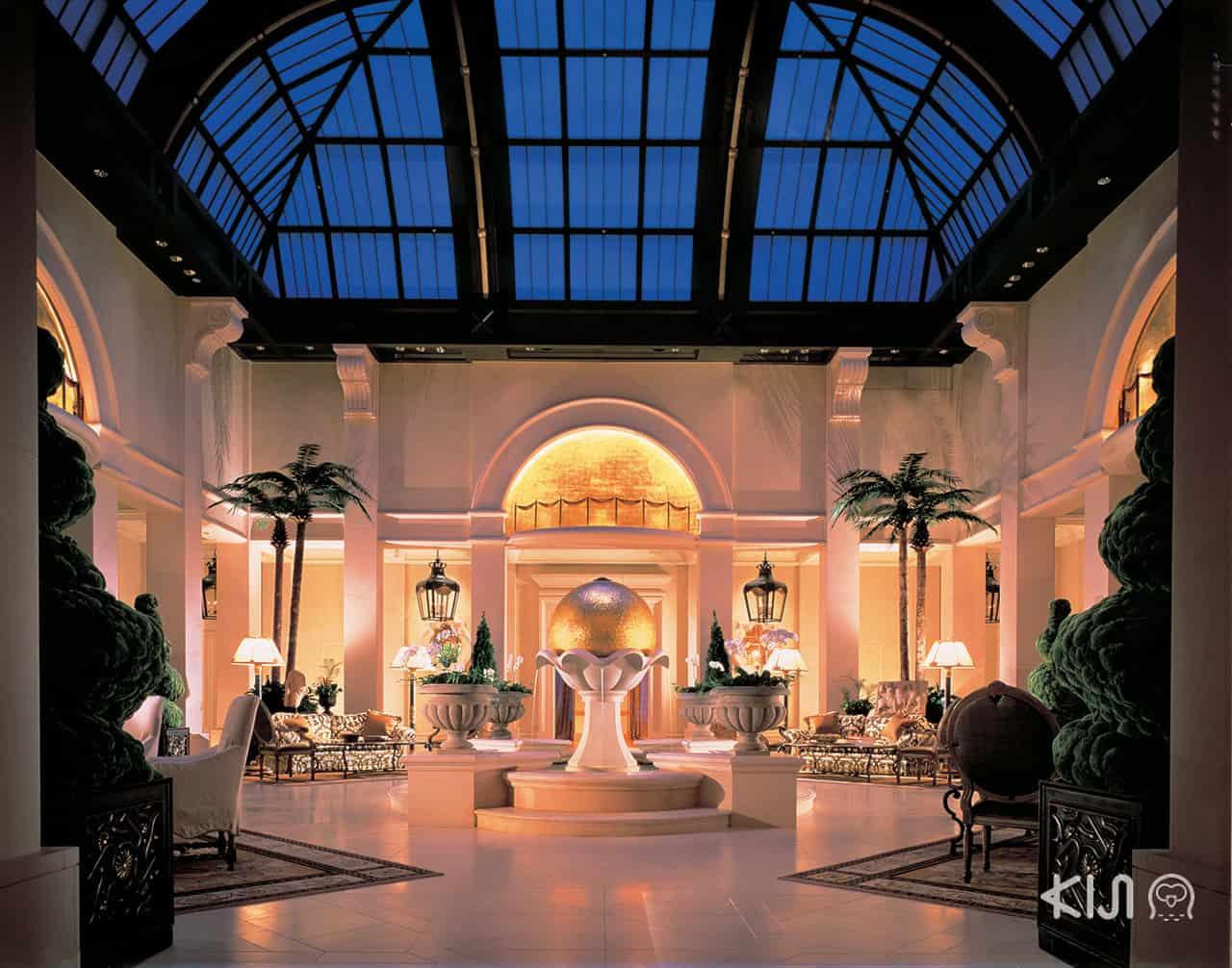 ห้องอาหารชั้น 25 ของโรงแรม Hotel Hankyu International