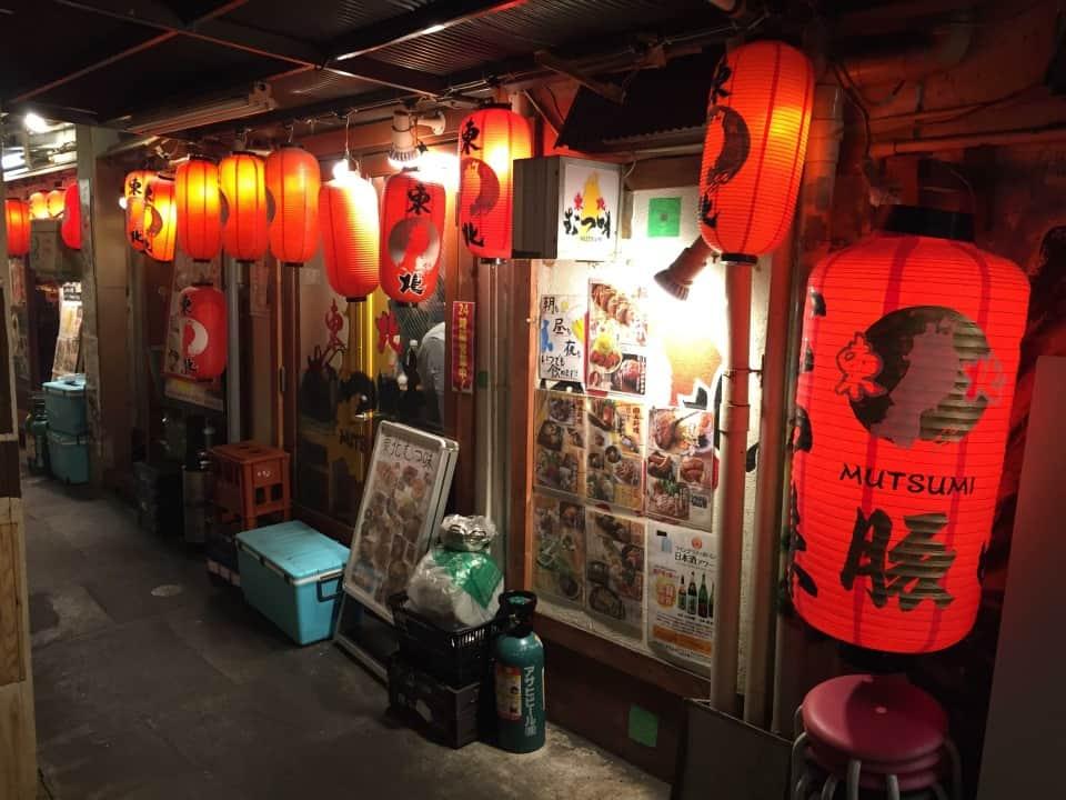 ร้านอาหารในย่าน Ginza Gado Shita Yurakuchi