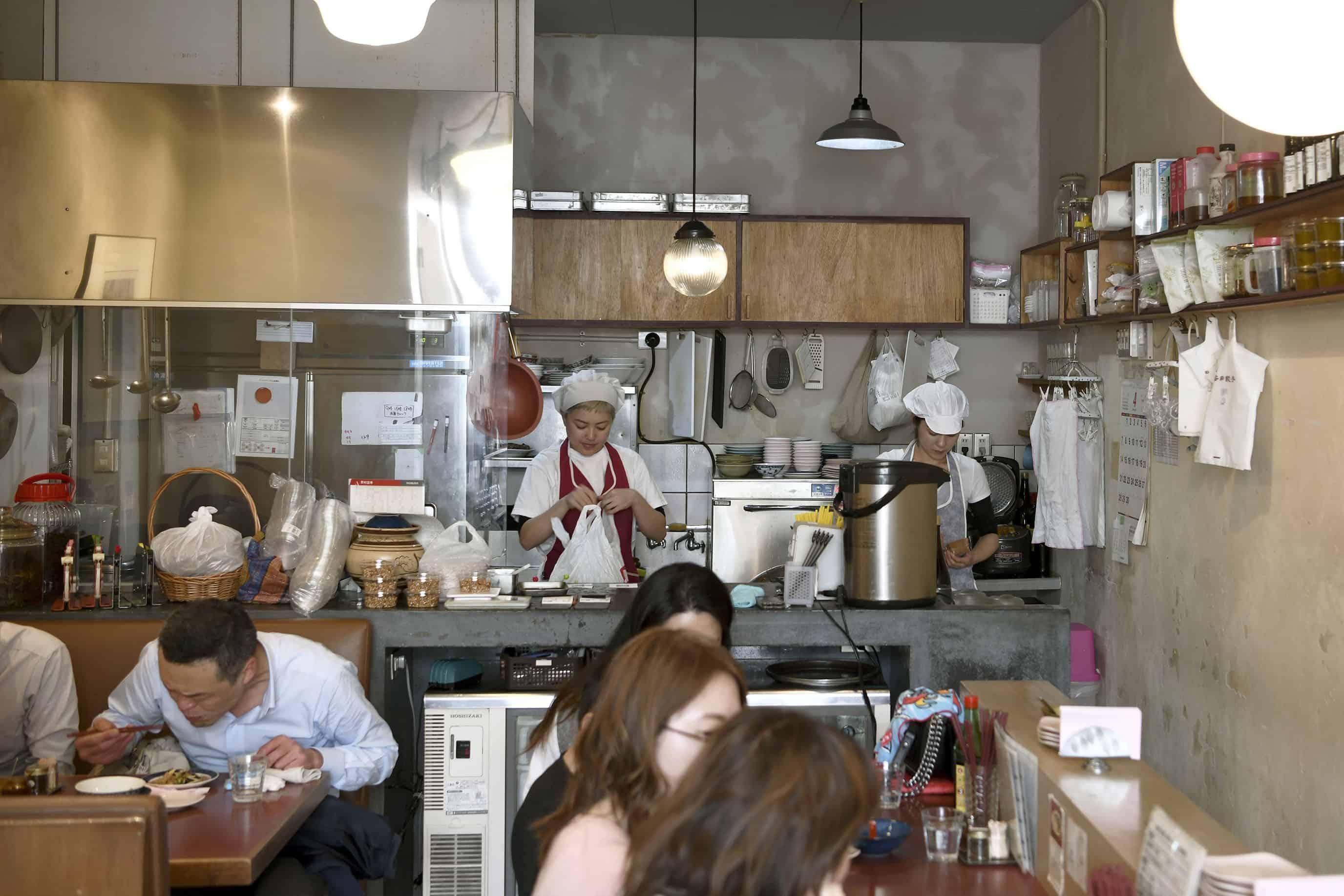 ร้านอาหาร มิชลิน สตาร์ ที่ โตเกียว - 按田餃子 , YOYOGI-UEHARA