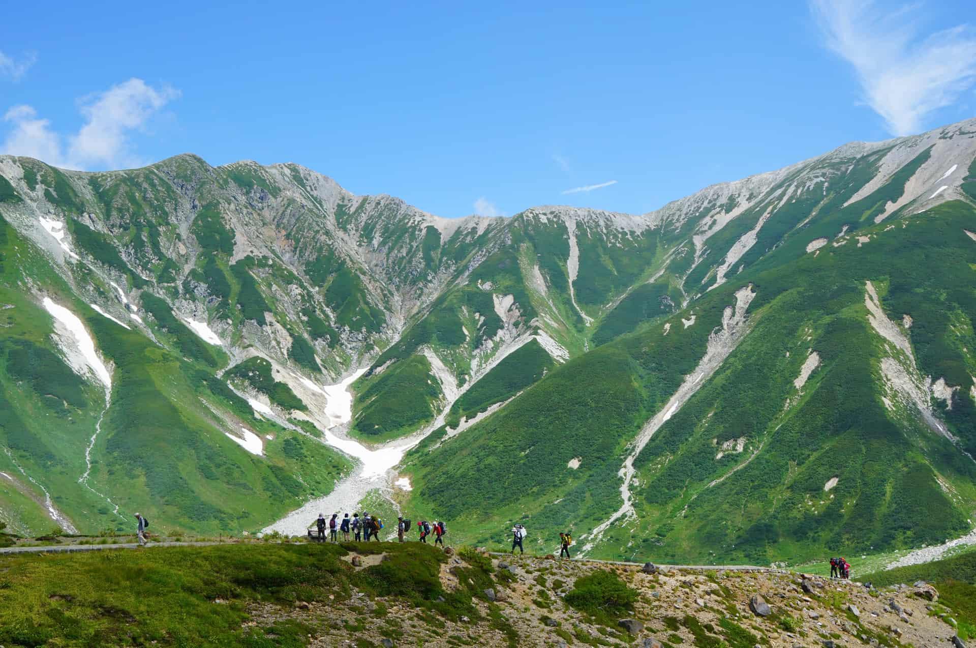 เดินทางไป Tateyama Kurobe Alpine Route
