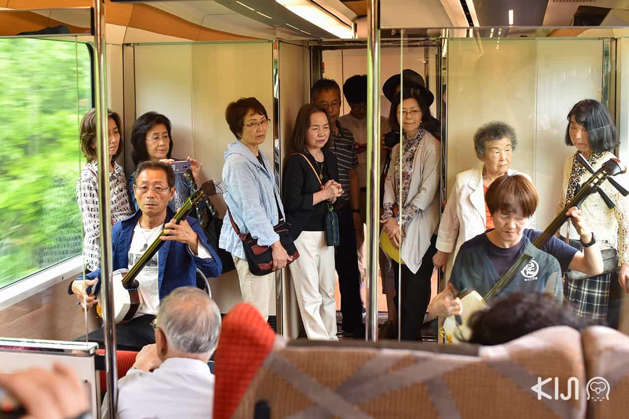 การบรรเลงเครื่องสายซามิเซ็น (Shamisen) - JR East Pass Tohoku Area (Resort Shirakami)