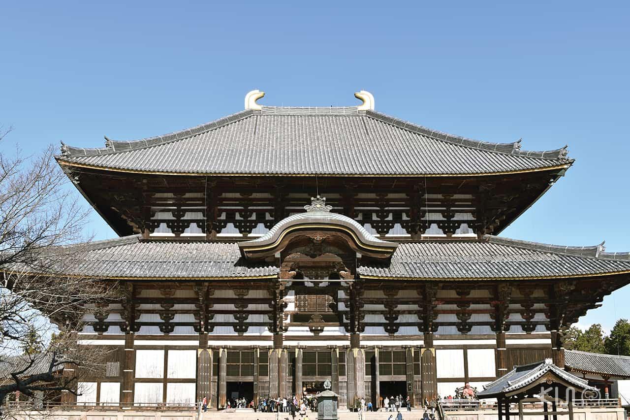 วัดโทไดจิ (Todaiji Temple) อยู่ไม่ไกลจาก Nara Park