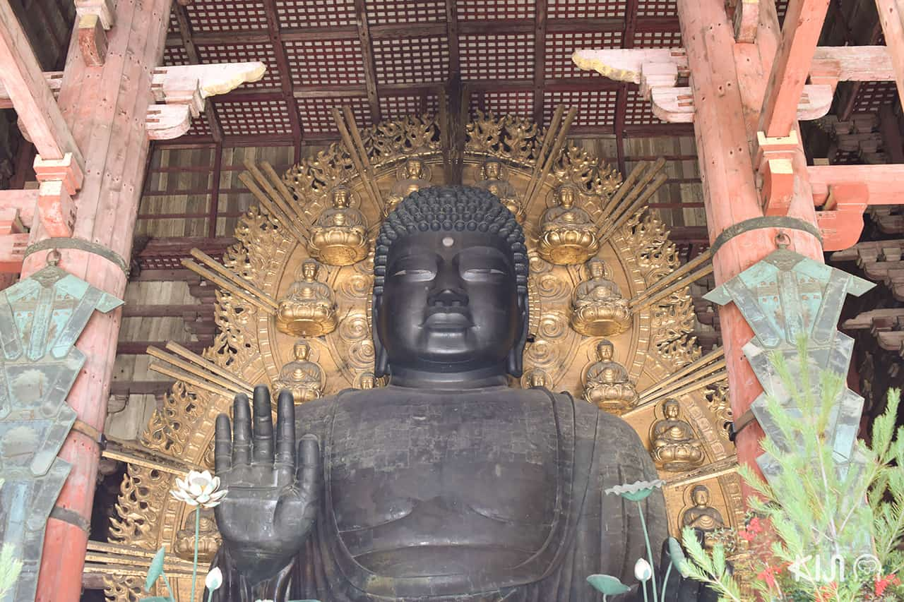 วิหารไดบุทสึเด็น (Daibutsuden Hall) วัดโทไดจิ (Todaiji Temple)