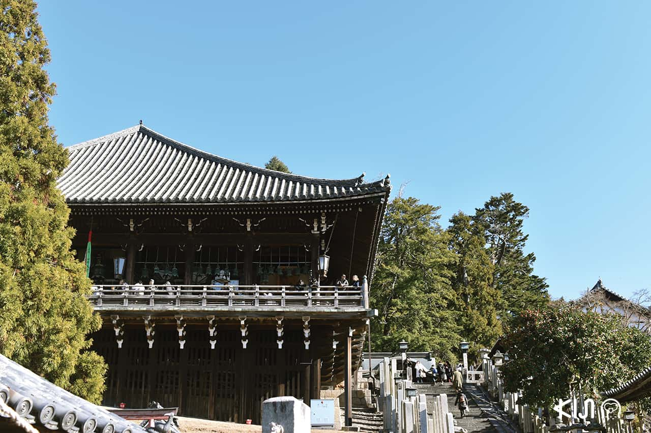 Nigatsudo Temple in Nara