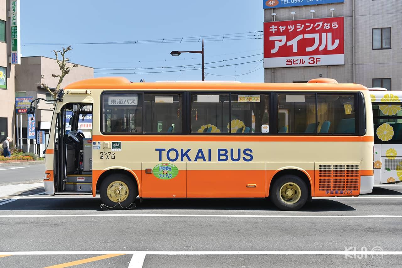 Tokai Bus รถบัสพาเที่ยวรอบ เมืองอิโต