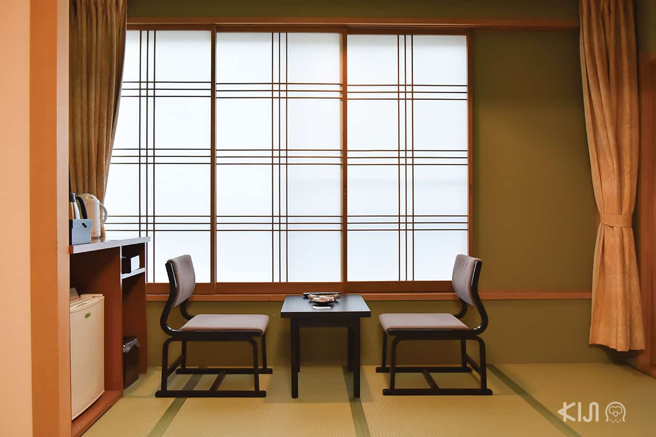 บรรยากาศภายในห้องพักของ Ito Kowakien - เมืองอิโต (Ito) จ.ชิซูโอกะ (SHIZUOKA)