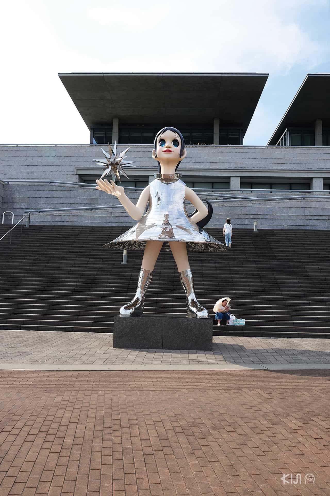 งานดีไซน์หน้าพิพิธภัณฑ์ศิลปะเฮียวโงะ (Hyogo Prefectural Museum of Art)