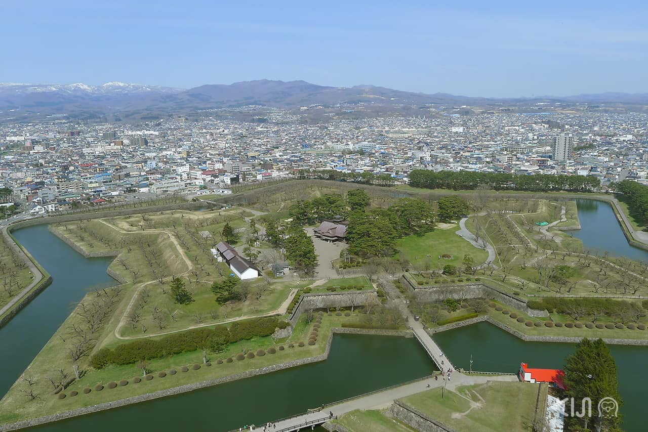 ป้อมปราการห้าแฉก (Fort Goryokaku)