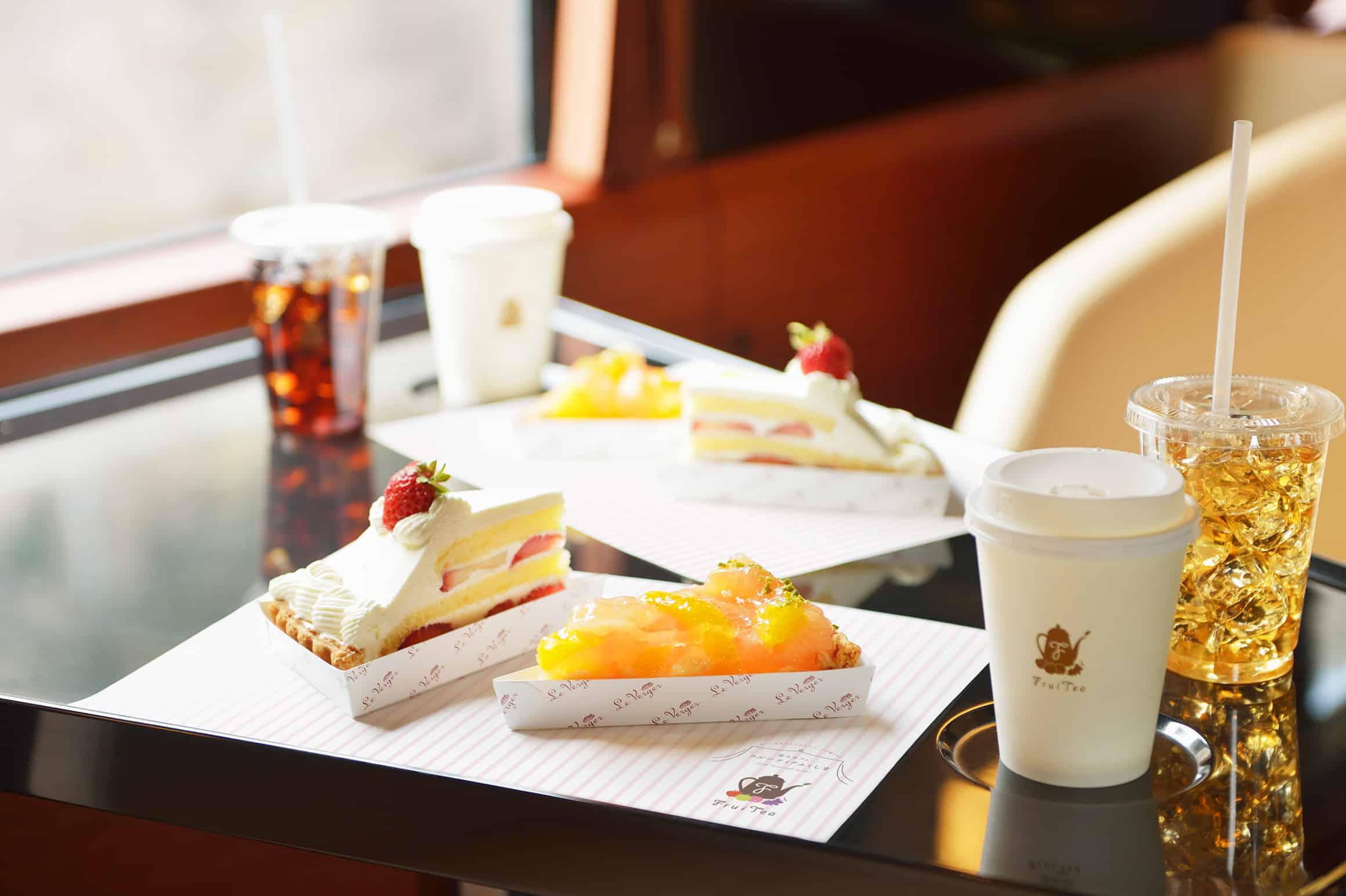 อาหาร ขนมหวาน FruiTea Fukushima Joyful train