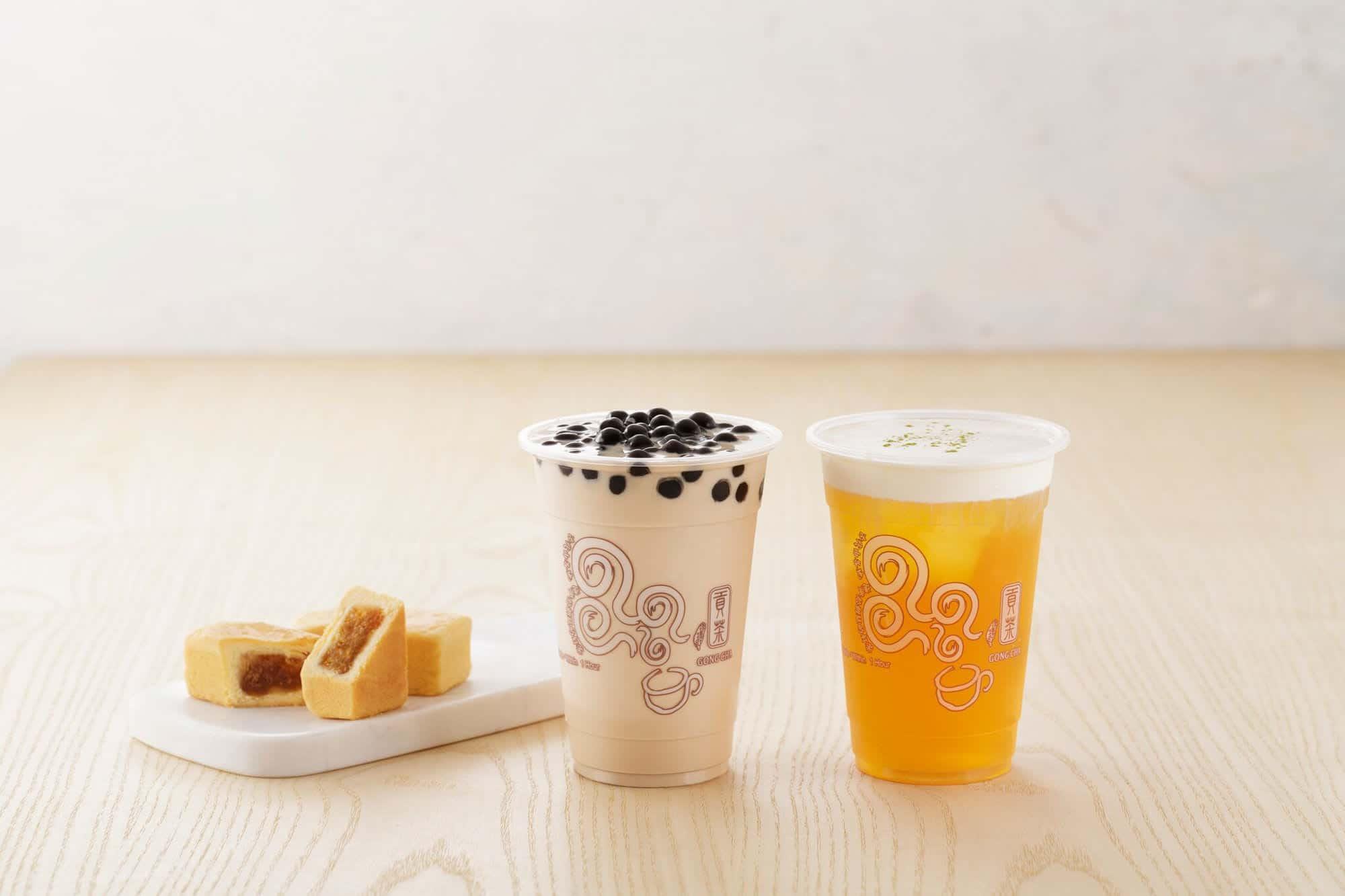 ชานมไข่มุก โอซาก้า (Bubble Milk Tea in Osaka) - Gong Cha ゴンチャ