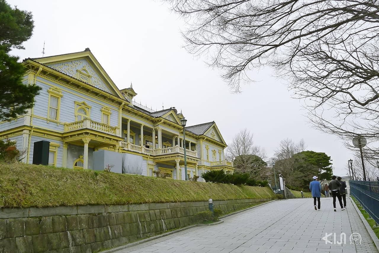 ย่านเมืองเก่า Motomachi ฮอกไกโด Hokkaido