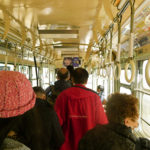 Hakodate Tram Interior_Hokkaido_Japan
