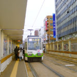Hakodate Tram Station_Hokkaido_Japan