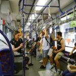 Hiroshima Tram Interior_Chugoku Region_Japan