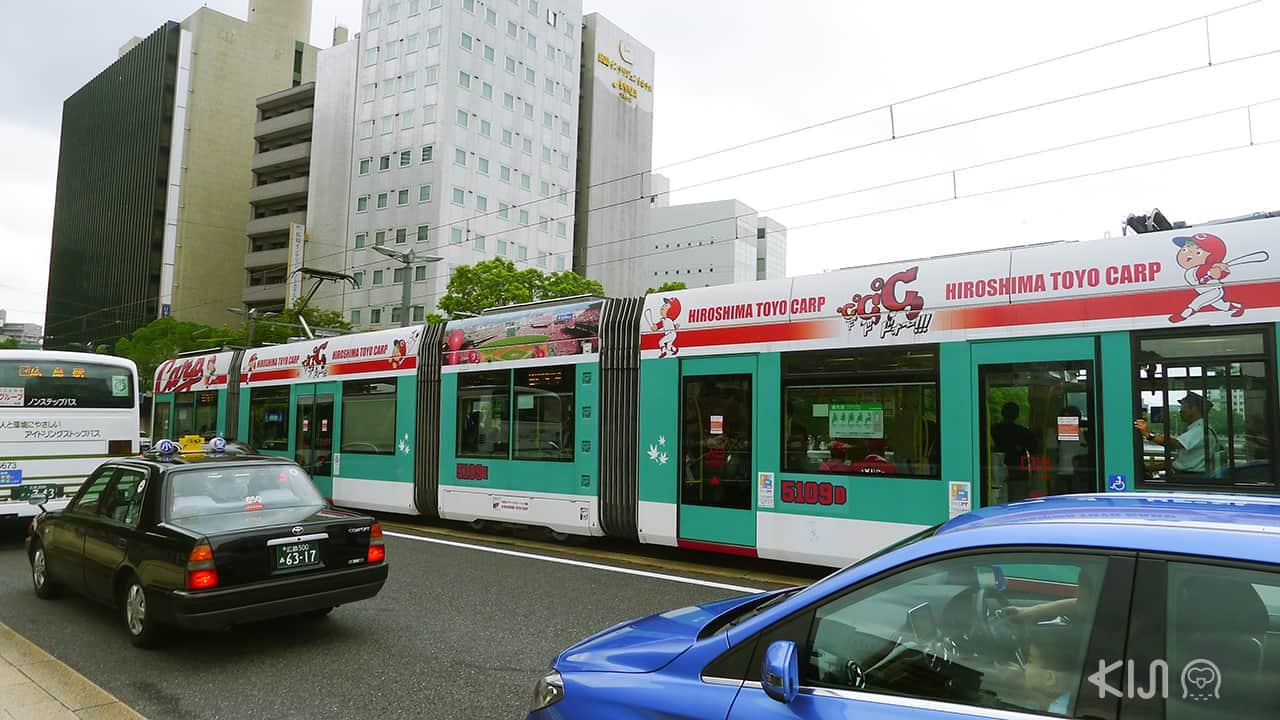 รถราง ญี่ปุ่น - hiroshima toyo crap