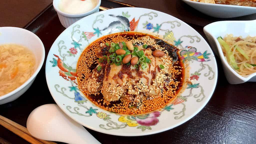 ร้านอาหาร มิชลิน สตาร์ ราคาถูก ที่ โตเกียว - JASMINE Hiroo Honten 中華香彩 ジャスミン 広尾本店 ,HIROO