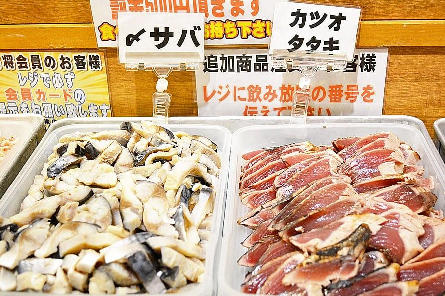 ร้านบุฟเฟ่ต์ซาชิมิNumazuko Kaisho Ueno Ichigo-ten : 沼津港 海将 上野1号店 โตเกียว