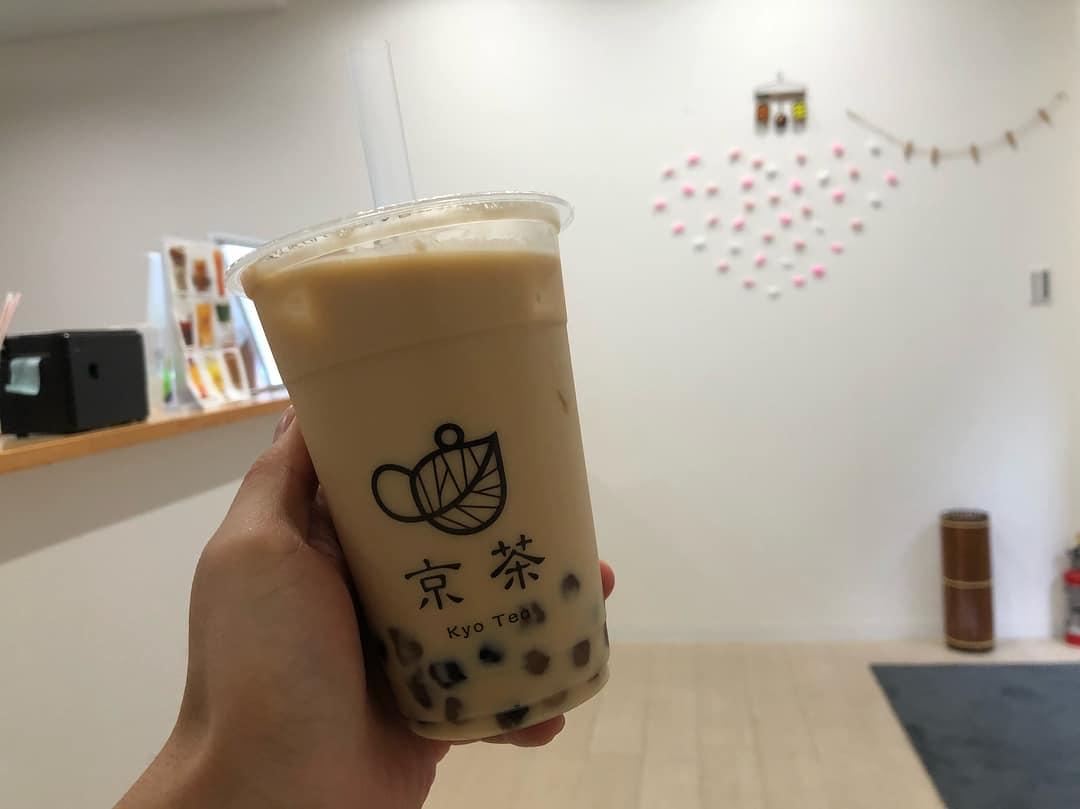 ร้านชานมไข่มุกในโอซาก้า (Bubble Milk Tea in Osaka)