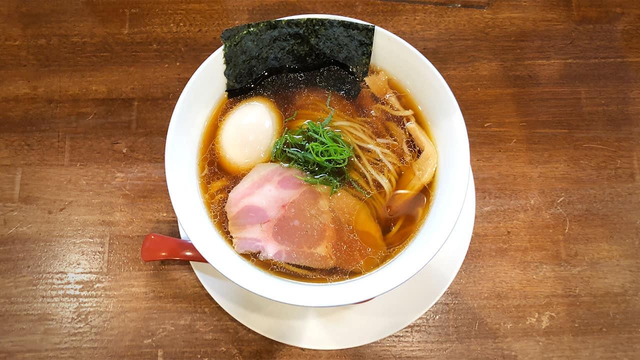 ร้านอาหาร มิชลิน สตาร์ ราคาถูก ที่ โตเกียว - Menya Ishin 麺や 維新 , MEGURO