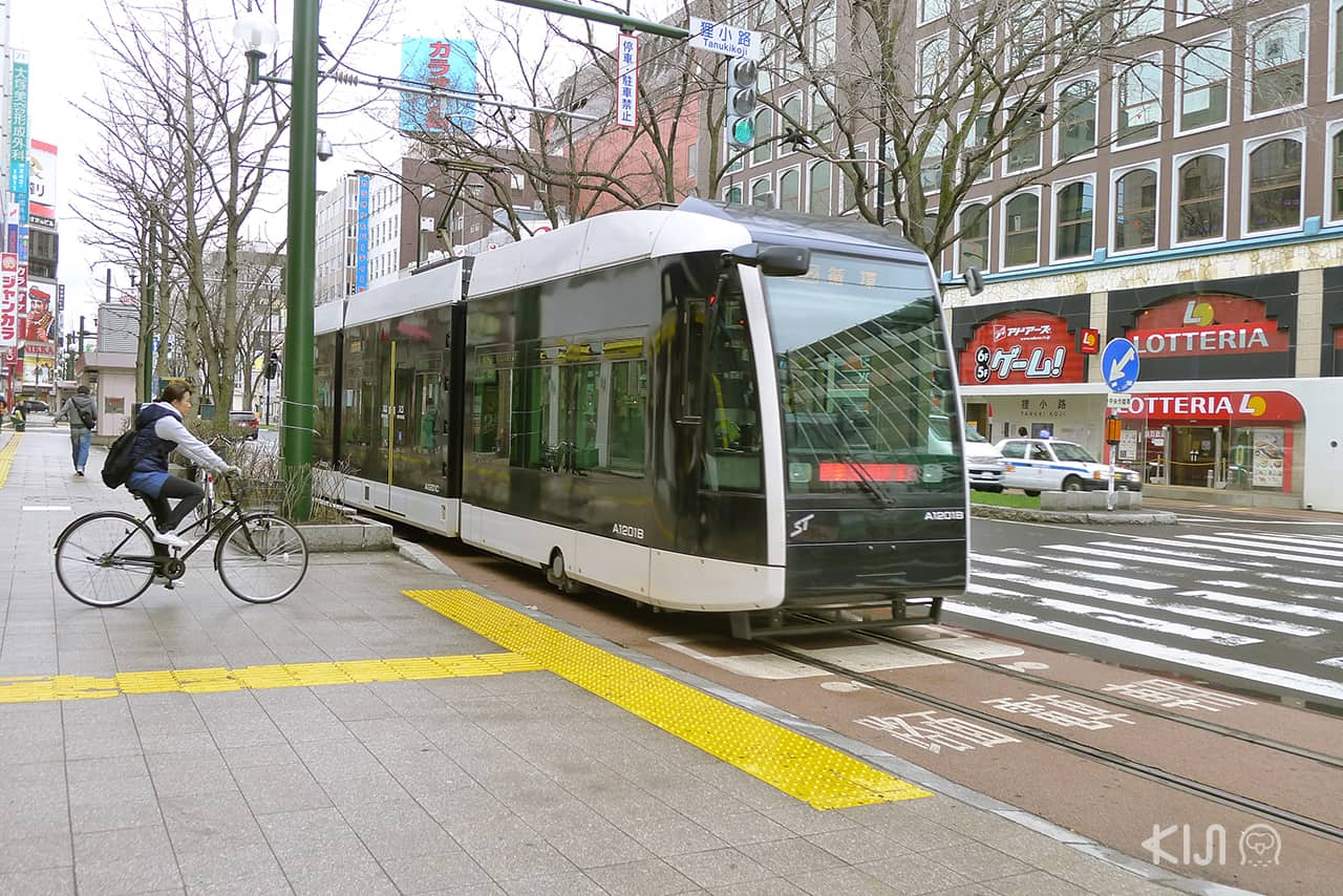 รถราง ญี่ปุ่น - ซัปโปโร