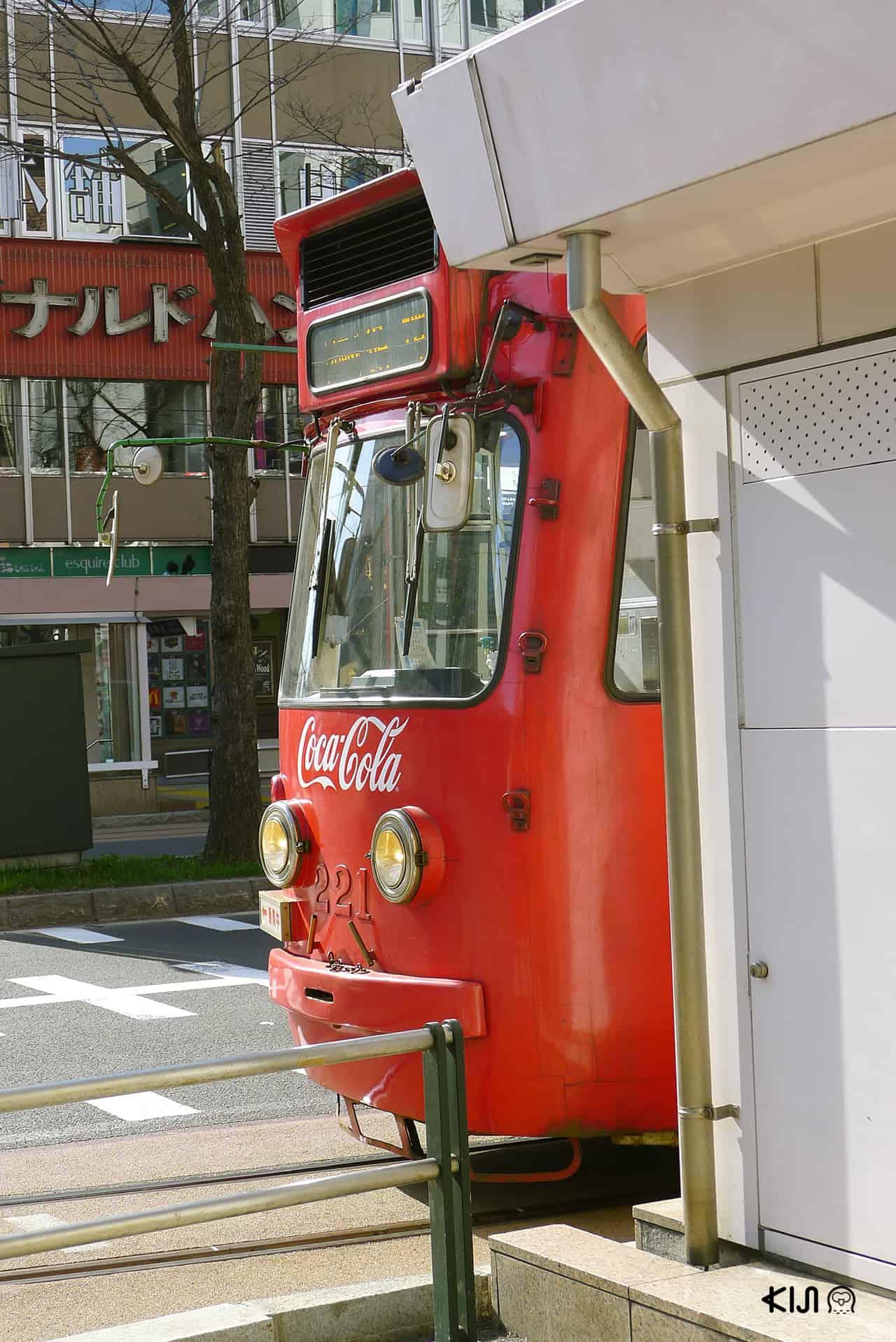 รถราง ญี่ปุ่น - รถรางรุ่น Retro ที่ซัปโปโร