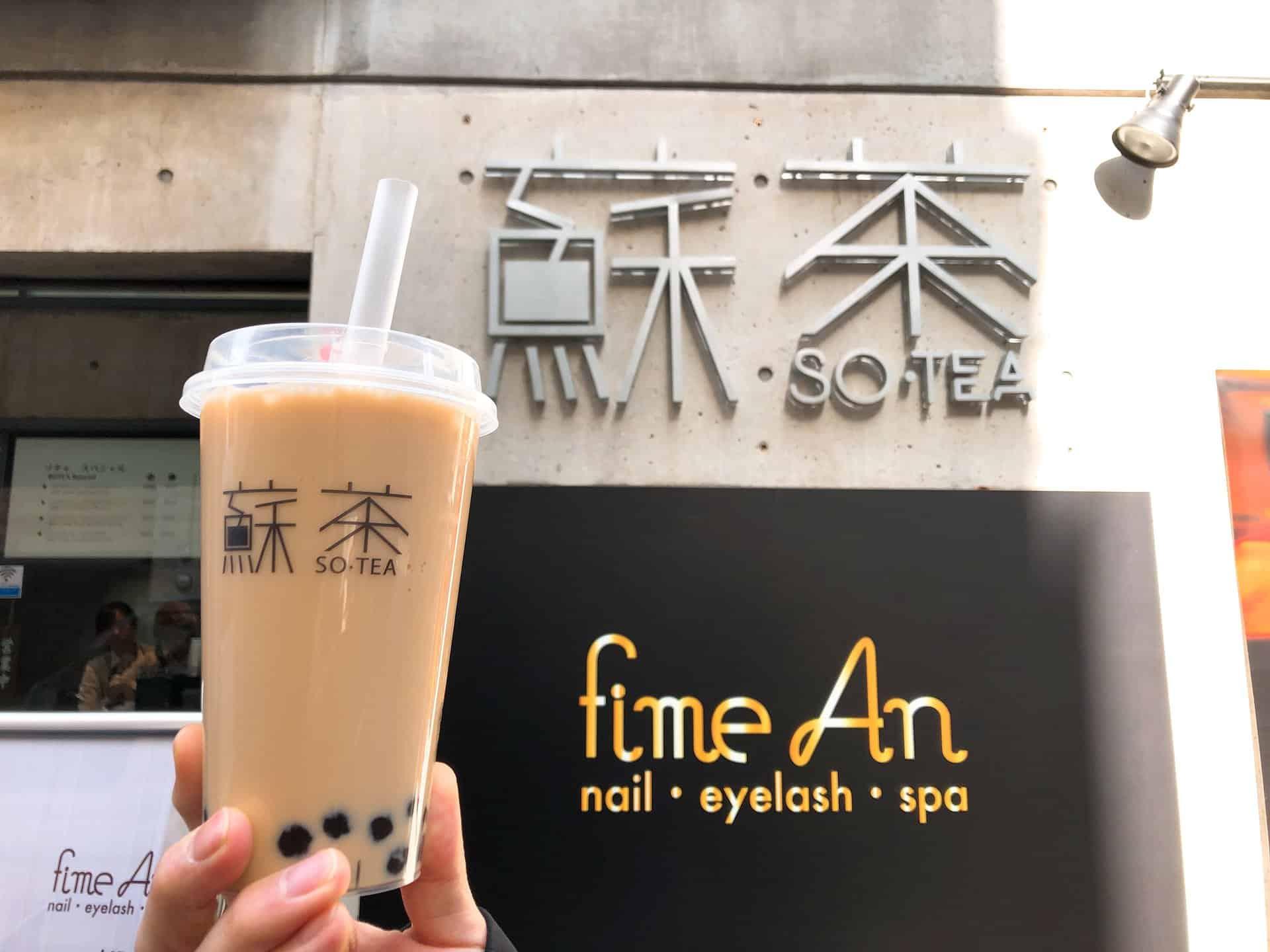 ชานมไข่มุก โอซาก้า (Bubble Milk Tea in Osaka) - SOTEA 蘇茶