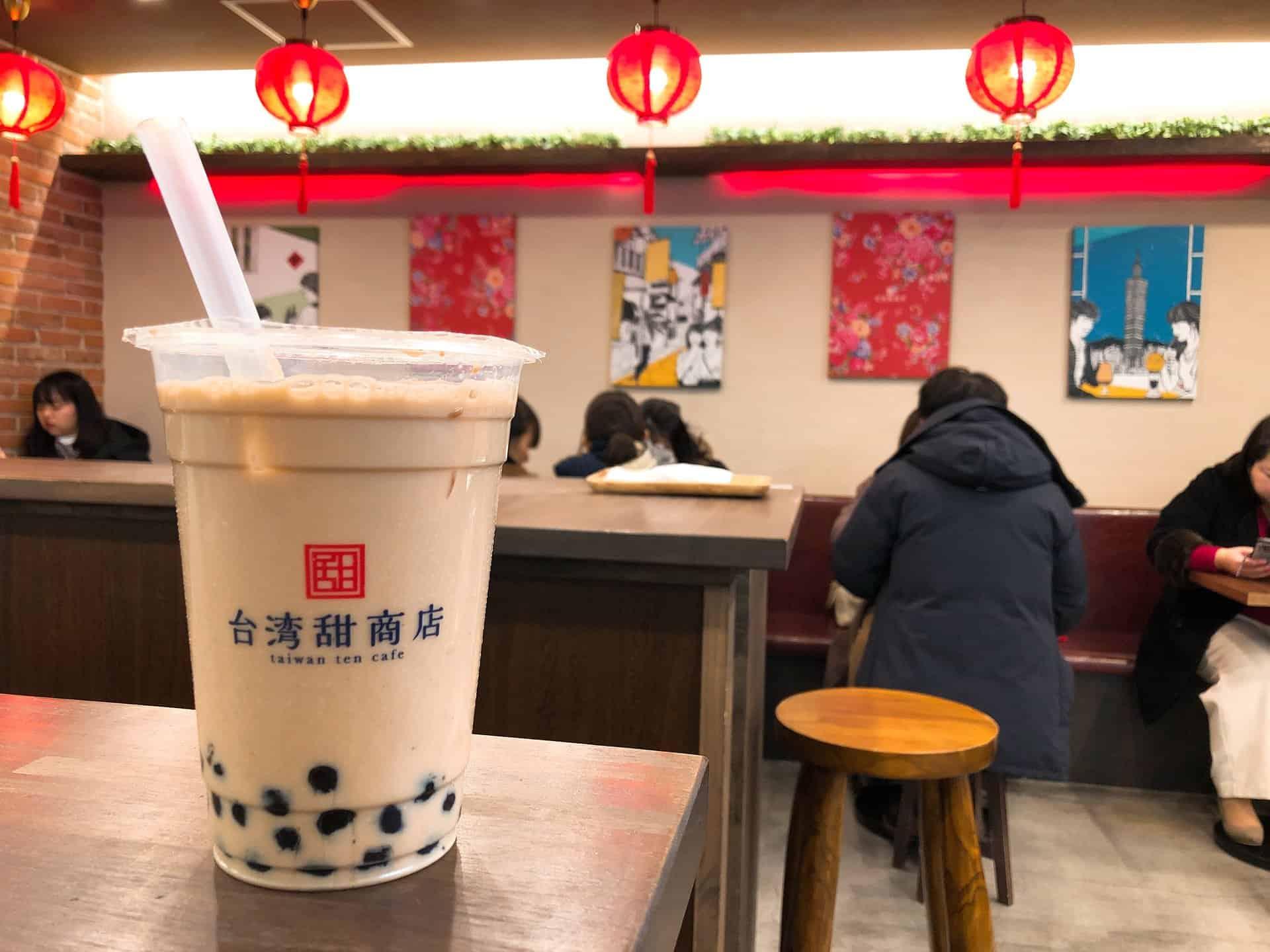Taiwan Tien Cafe in Osaka