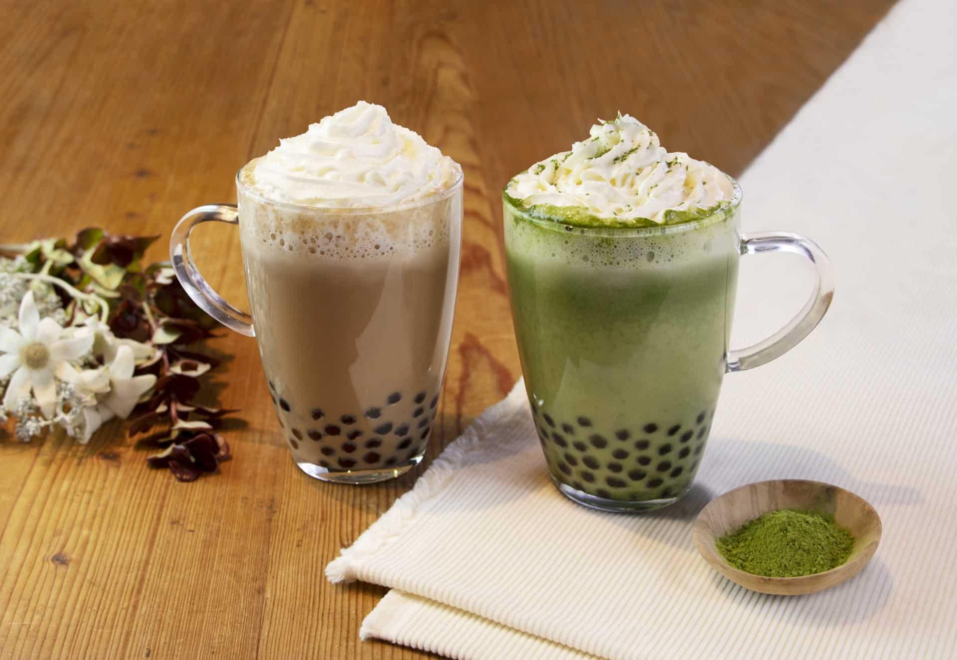 ร้าน ชานมไข่มุก โอซาก้า Tapioca Milk Tea in Osaka