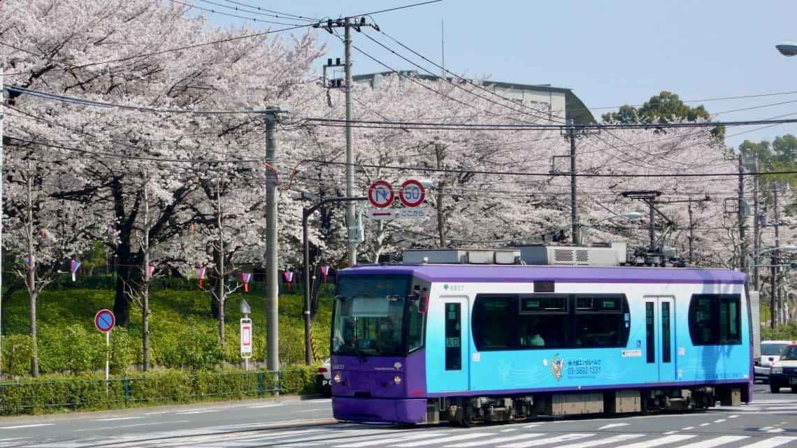 รถราง ญี่ปุ่น - โตเกียว