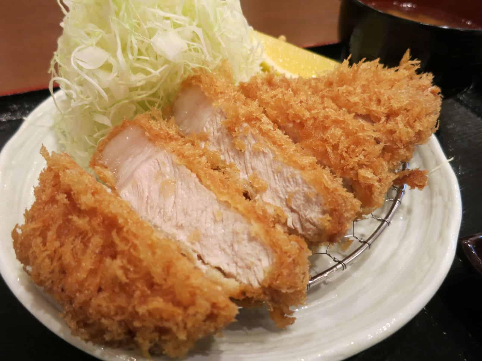 ร้านอาหาร มิชลิน โตเกียว - とんかつ まさむね , TAMEIKESANNO