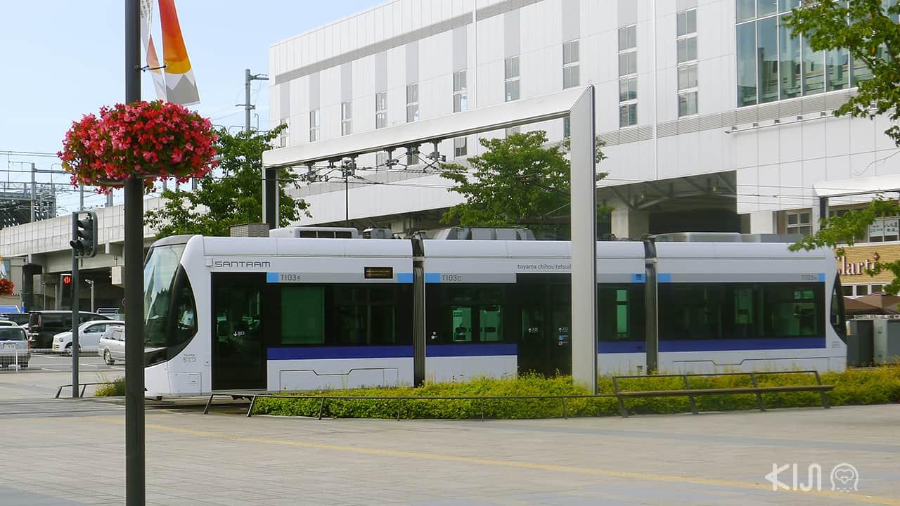 รถราง ญี่ปุ่น - Toyama Santram
