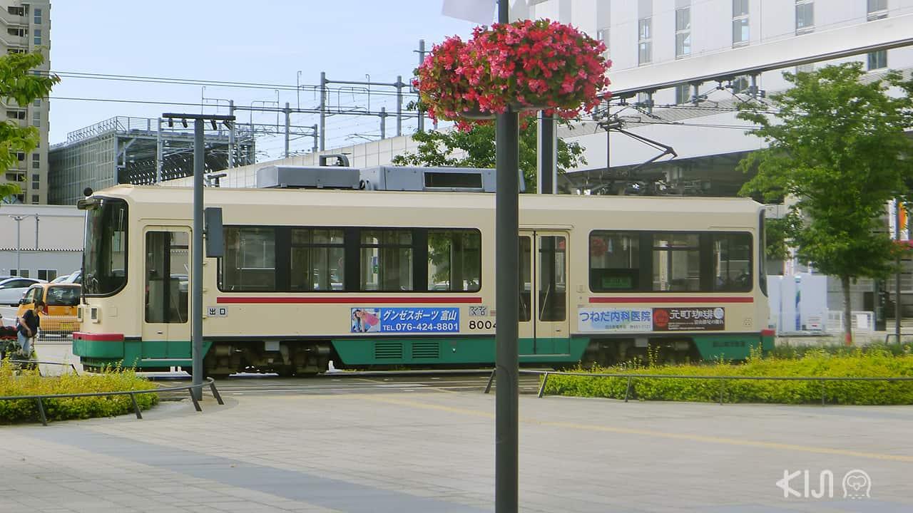 รถราง ญี่ปุ่น - รถรางโทยามะ