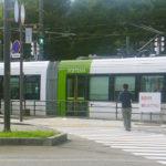 Toyama Tram4_Toyama City_Chubu Region_Japan