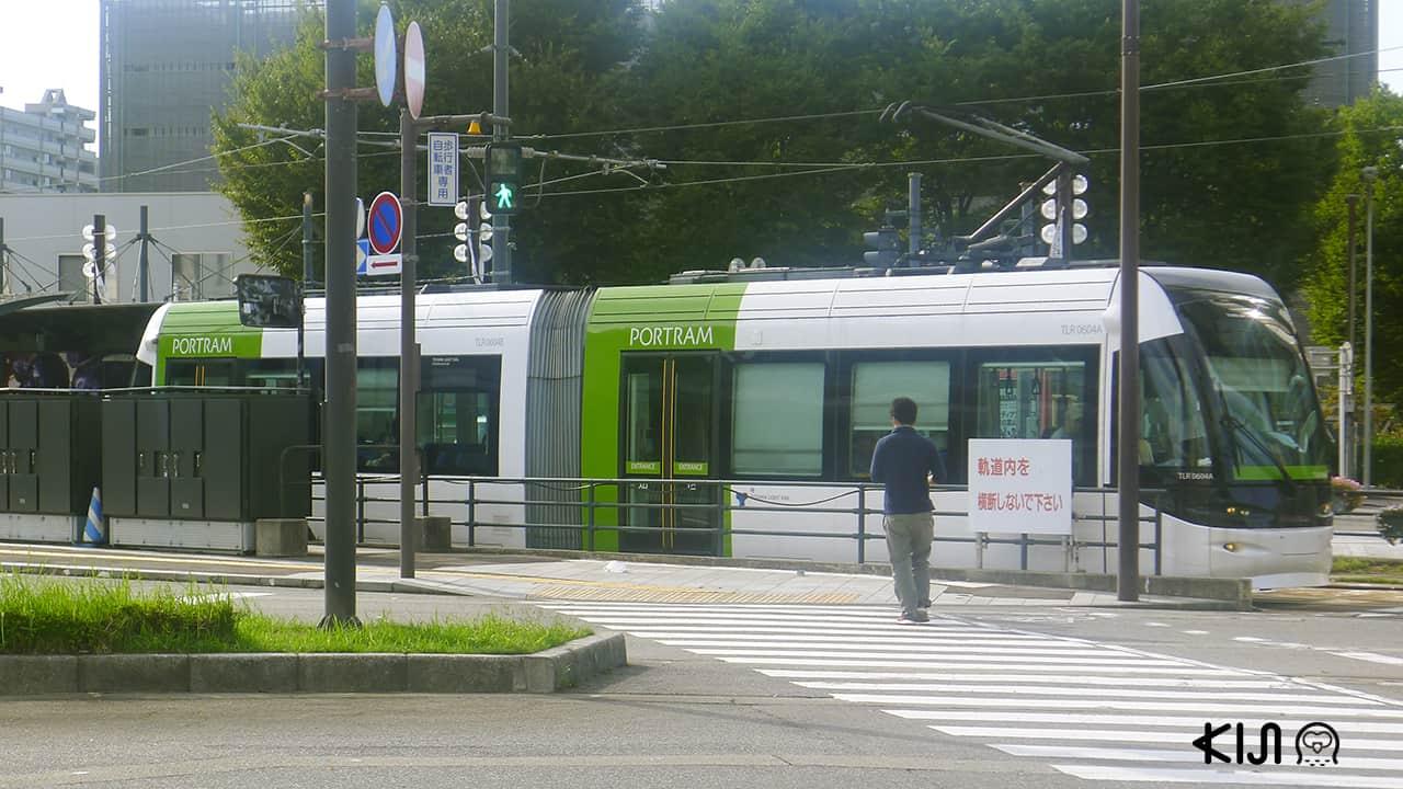 รถราง ญี่ปุ่น - Toyama Portram