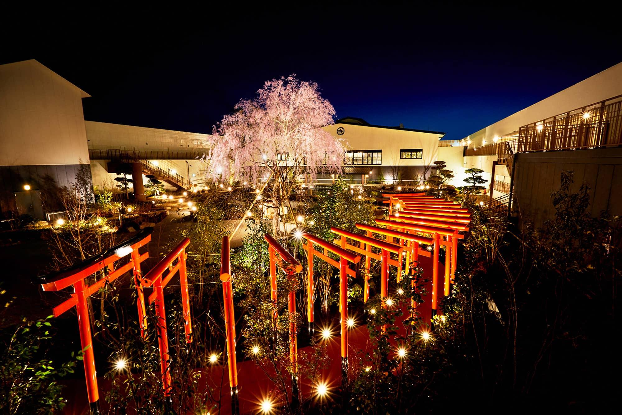 สวนดอกไม้ของโซระนิวะ ออนเซ็น (Solaniwa Onsen) โอซาก้า (Osaka)