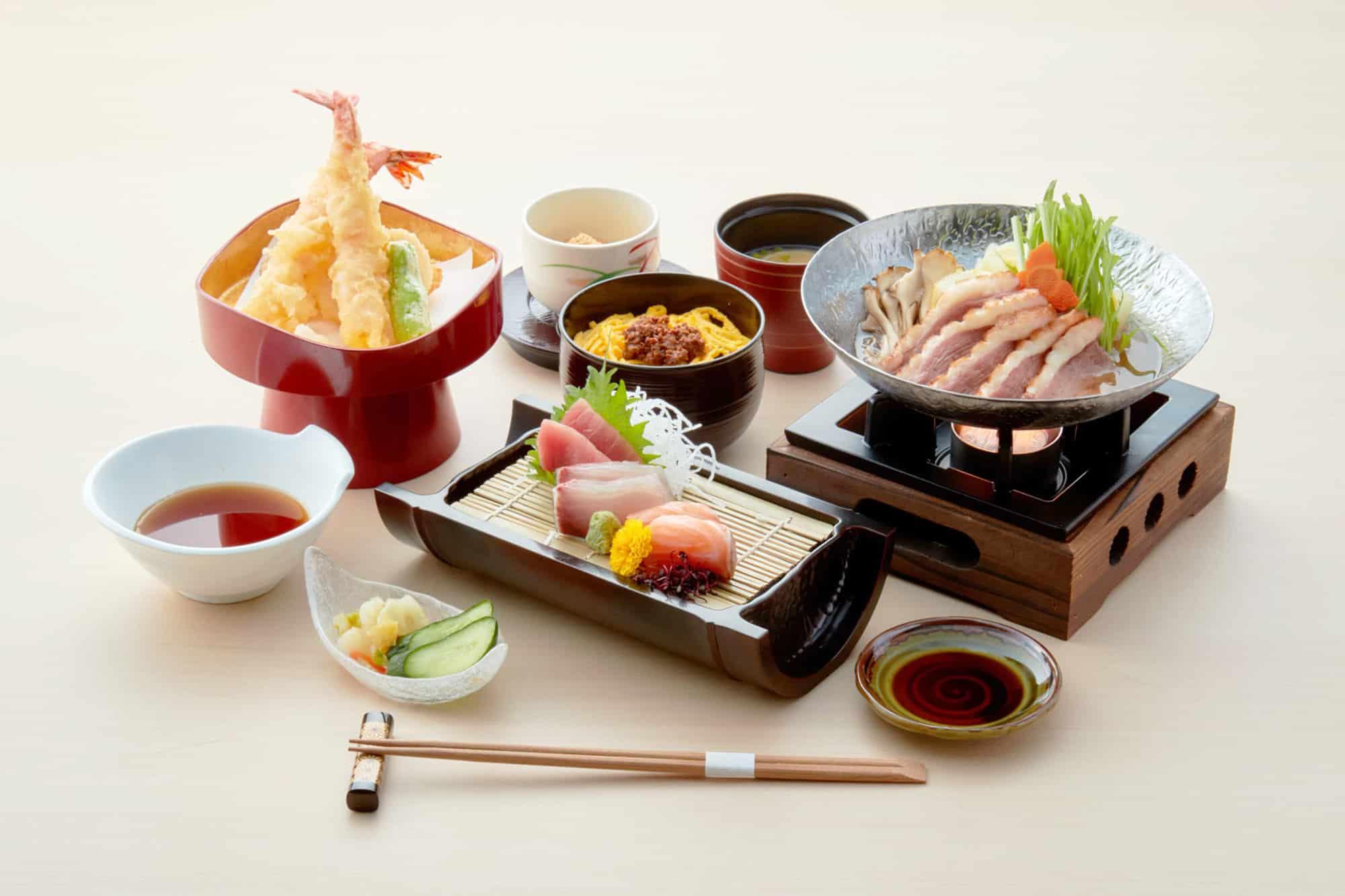 อาหารภายใน Solaniwa Onsen จ.โอซาก้า (Osaka)