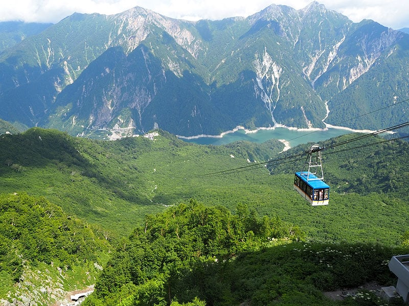 Tateyama Kurobe Alpine Route, toyama, nagano