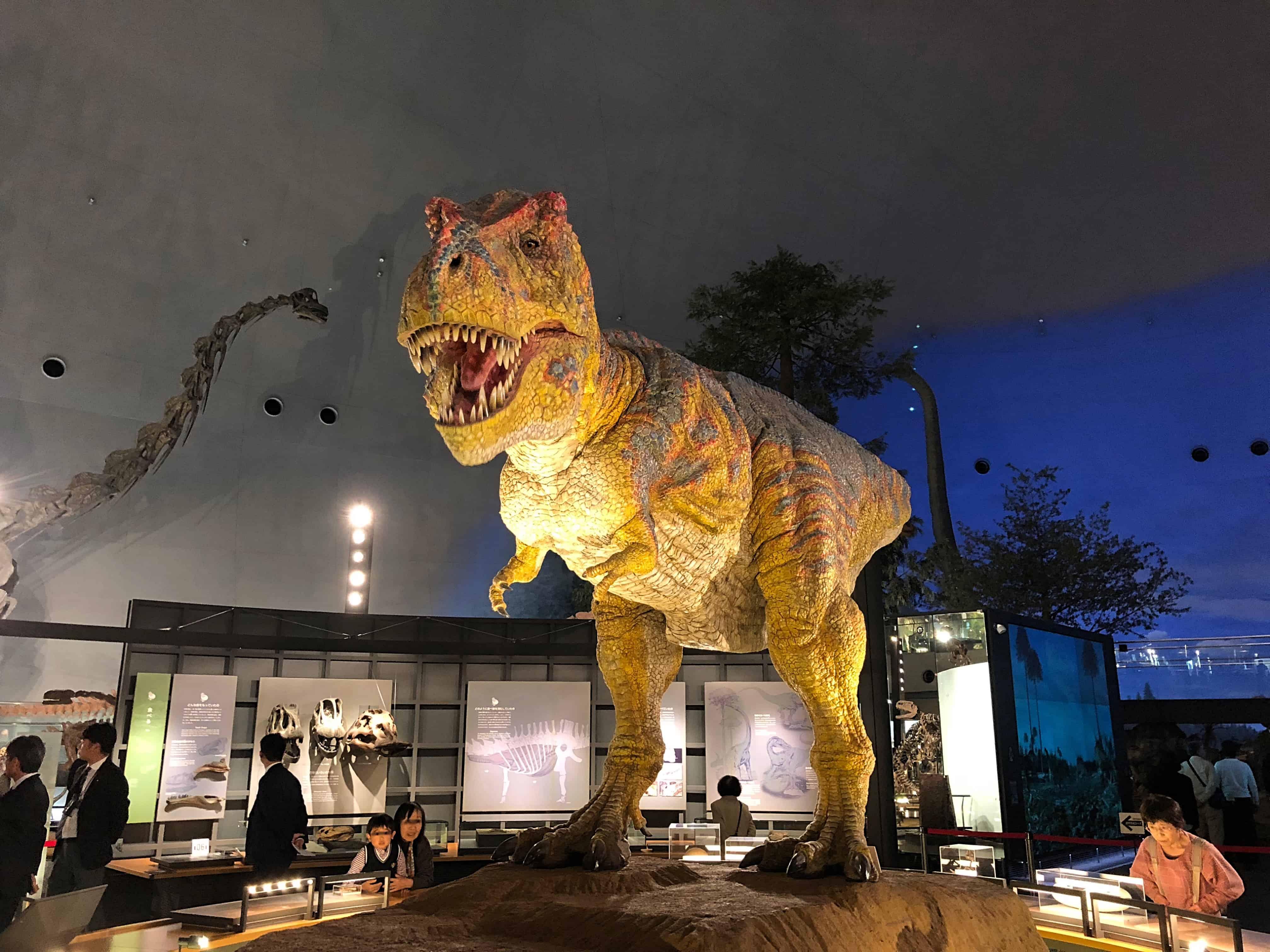 พิพิธภัณฑ์ไดโนเสาร์แห่งจังหวัดฟุกุอิ (Fukui Prefectural Dinosaur Museum : 福井県立恐竜博物館)