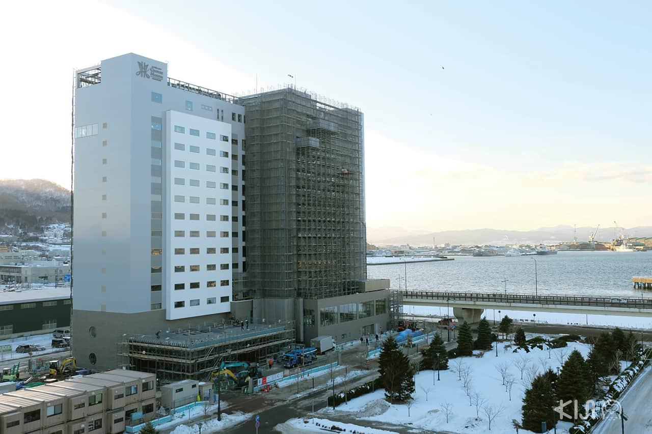 วิวภูเขาและทะเลฮาโกดาเตะ ใกล้โรงแรม Hakodate Danshaku Club Hotel & Resorts