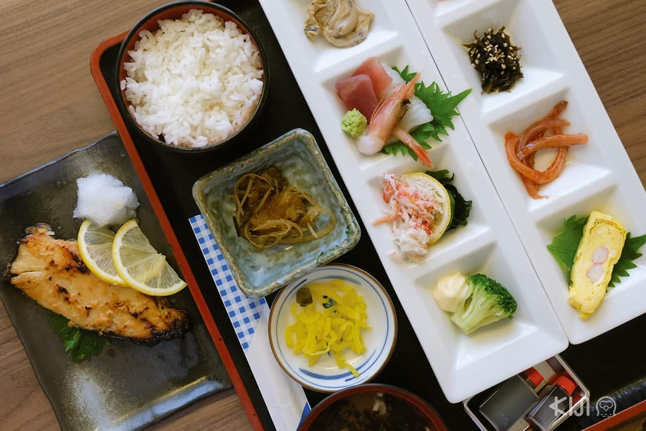 อาหารของโรงแรม Hakodate Danshaku Club Hotel & Resorts
