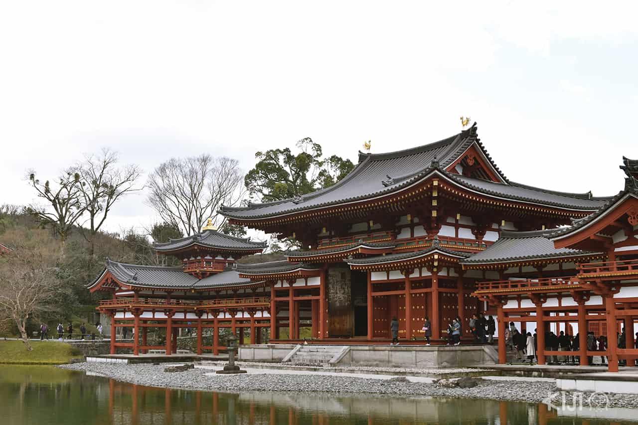 วัดเบียวโดอิน (Byodoin Temple) เมืองอุจิ จังหวัดเกียวโต